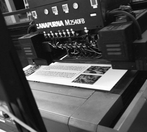 Anapurna drukmachine